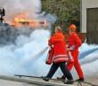 Nicht nur bei Übungen haben sich die Aufladelöscher bewährt, sondern auch bei der realen Brandbekämpfung. Durch das Zwei-Behälter-System wird die Wartung erleichtert. (Fotos: BVFA)