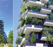 Preisträger des Internationalen Hochhaus Preises 2014: Bosco Verticale in Mailand. (Fotos: AGC Interpane)