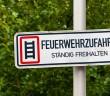 Feuerwehrzufahrten sind stets freizuhalten - © fefufoto - Fotolia.de