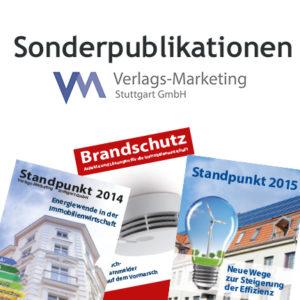 Sonderpublikationen der Verlags-Marketing Stuttgart