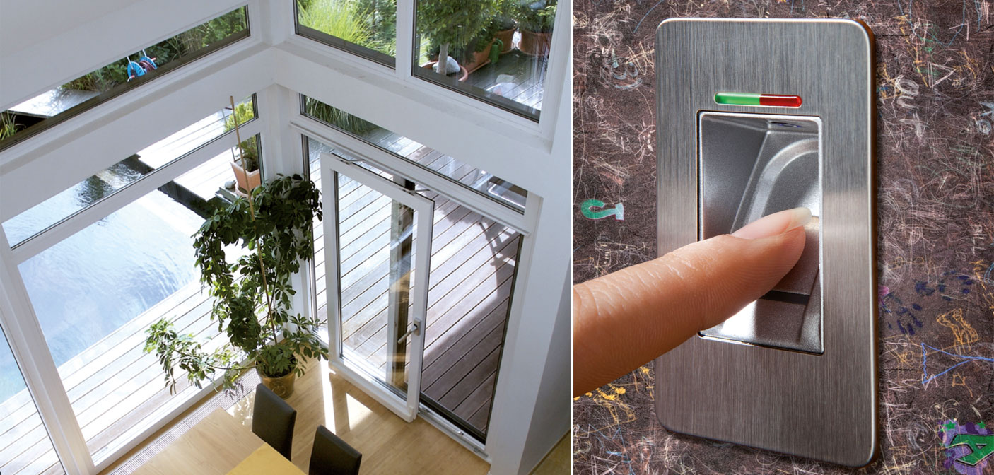 vernetzung von fenstern t ren und sonnenschutz. Black Bedroom Furniture Sets. Home Design Ideas