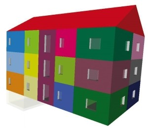 Möglichkeiten einer thermischen Einteilung der Gebäude - © ALWARE