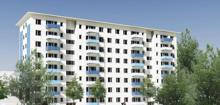 Der Baubeginn für das zukünftige Selbstversorgerhaus ist für 2016 geplant. - © degewo