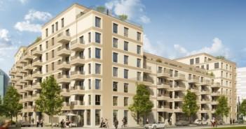 Frankfurter Neubaugebiet Rebstockpark. - © LBBW