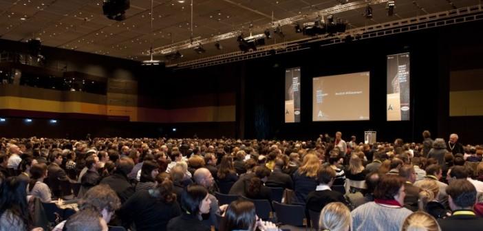 Der Kongress The Art of Planning war bereits bei seiner Premiere auf der R+T 2012 ein voller Erfolg. Das Angebot für Architekten und Planer wird auf der R+T 2015 durch den German Interior Designers Day weiter ergänzt. - © Messe Stuttgart