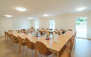Großer Gemeinschaftsraum. - © Firma Kleusberg GmbH & Co. KG
