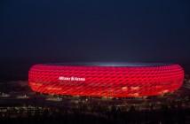 Seit August erstrahlt die Allianz Arena noch heller. - © Philips