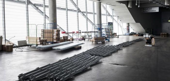 Insgesamt wurden mehr als 45 Tonnen Material verbaut. - © Philips