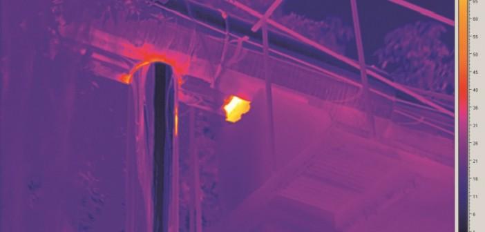 Die ICX-Wärmebildkameras liefern vollradiometrische Wärmebilder mit feiner Detaildarstellung auch bei kleinsten Temperaturunterschieden. - © Trotec