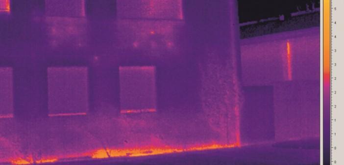 Softwareseitige Level-Span-Bildmanipulationen durch Reduzierung der Temperaturspannweite ermöglichen die Darstellung selbst geringster Temperaturdifferenzen. - © Trotec