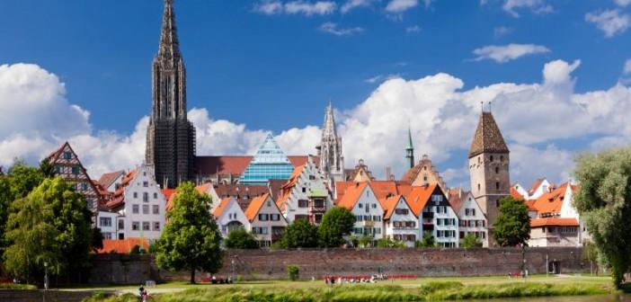 Blick auf Ulm und das Münster. - © arsdigital, Fotolia.de