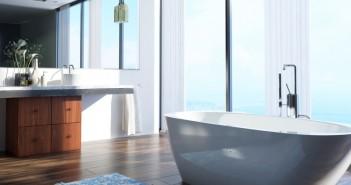 Das Badezimmer gewinnt immer weiter an Bedeutung. - © XtravaganT, Fotolia.de