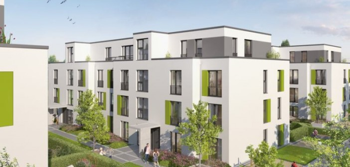 "Wohnquartier ""Graffring 50"" in Bochum. - © HH-Vision"