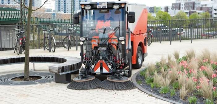 Der Citymaster-1600 bietet ein bedienerfreundliches, ergonomisches und rückenschonendes Gesamtmaschinenkonzept. - © Hako
