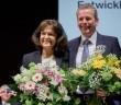 Neuwahlen in Dresden: die neue Präsidentin des Deutschen Städtetags, Oberbürgermeisterin Dr. Eva Lohse, und ihr Vorgänger Dr. Ulrich Maly, Oberbürgermeister von Nürnberg. - © Deutscher Städtetag