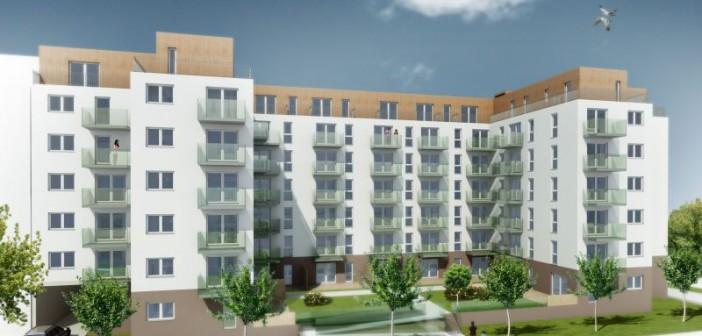 Im Berliner Stadtteil Heinersdorf entstehen derzeit 77 Wohnungen, die für alle Generationen konzipiert sind. - © Quattrohaus