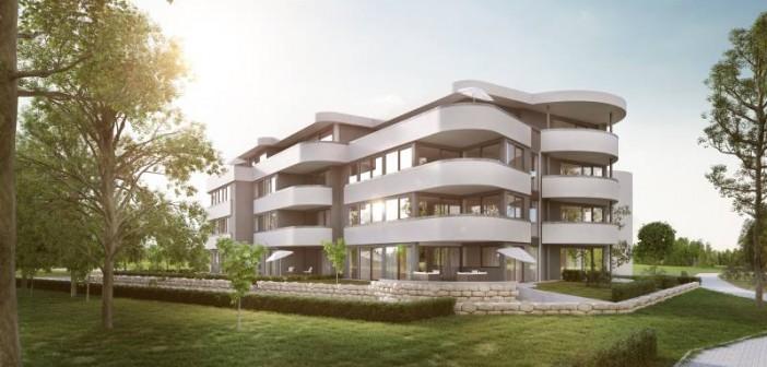 Das Smarthaus vereint innovative Architektur und Technik in Renningen-Malmsheim. - © Strenger
