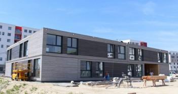 Das neue Wohnheim in Wien kurz nach Fertigstellung. - © Passivhaus Institut