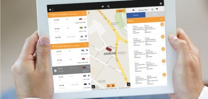 Die Informationen können selbstredend auch auf mobilen Endgeräten abgerufen werden. - Bild: © PTC GPS-Services GmbH