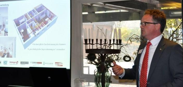 """Unter dem Motto """"Energieeffizienz & Gestaltung - Synergie oder Widerspruch?"""" fand auf der Burg Hohen Neuffen die zweite Sy(e)nergie-Veranstaltung in diesem Jahr statt. - Foto: © Helios Ventilatoren"""