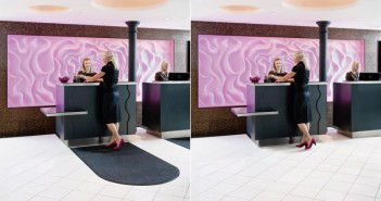 Direkter Vergleich: Schmutzfangmatten können Räume auch sichtlich aufwerten. - Bild: © CWS-boco