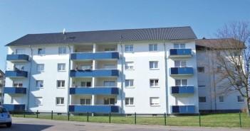 Das Gebäude vorher ... - Bild: © Baugenossenschaft Familienheim Heidelberg