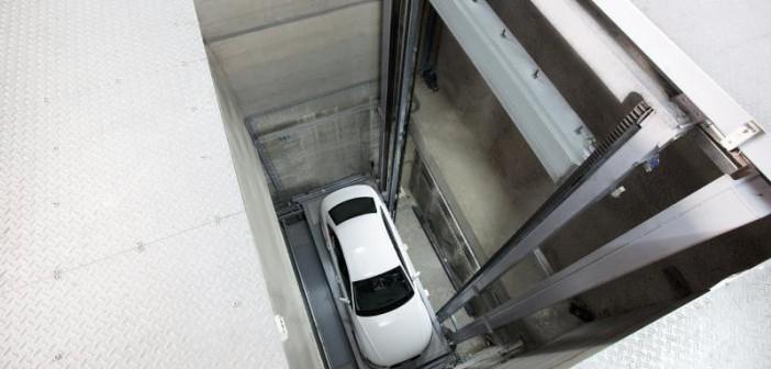 Der MasterVario R3C von Klaus Multiparking verteilt die Fahrzeuge vollautomatisch innerhalb kürzester Zeit ... - Foto: © Klaus Multiparking