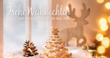 Frohe Weihnachten und ein glückliches, gesundes neues Jahr. - Bild: © emmi - Fotolia.de