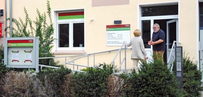 Die barrierefreie Musterwohnung liegt in Dortmunder Innenstadtrandlage, nur wenige Häuser vom Dogewo-21-Kundenzentrum entfernt. - Bild: © Dogewo 21