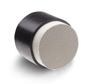 Kompakter Wärmespeicher aus Keramik-Verbundstoff. - © Lunos