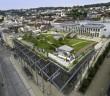 Das Ziel: mehr Grün und Lebensqualität in die Stadt – mit Dachbegrünungen ... - Bild: © FBB