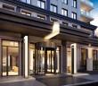 Projekt Onyx – First Class Living Westend, Frankfurt/Main, Eingangsbereich bei Nacht. - alle Fotos: © Assmann beraten + planen