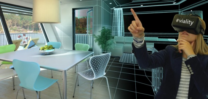 Virtual Reality in der Immobilienbranche. - Bild: © Viality