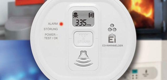Kohlenmonoxidwarnmelder weisen frühzeitig auf eine Vergiftungsgefahr hin. - © Ei Electronics