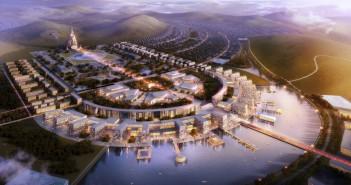 30 Kilometer südlich der Hauptstadt Ulaanbaatar entsteht eine neue Stadt: die Maidar Eco City. - Bild: © RSAA