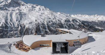 """Der """"Diamant der Alpen"""", das Skigebiet Obergurgl-Hochgurgl, hat mit dem Top Mountain Crosspoint ein weiteres Schmuckstück erhalten."""