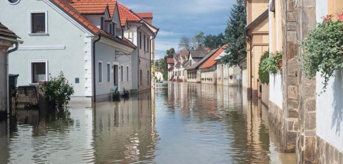 Im Gegensatz zu starken Niederschlägen oder Leitungswasserschäden zeigen sich Hochwasserschäden nicht nur an der Oberfläche, sondern auch in Hohlräumen, Decken- und Fußbodenkonstruktionen und im Wandquerschnitt.