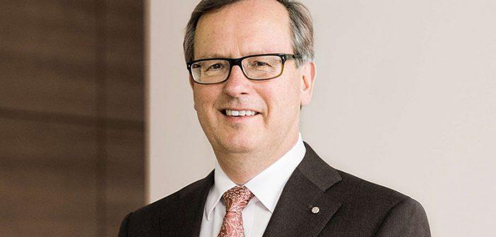 Dr. Manfred Alflen, Vorstandsvorsitzender der Aareon AG