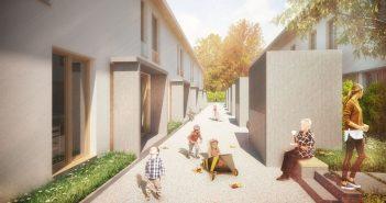 """""""Das gemietete Haus"""": Ein neuer Ansatz der Leichtbeton-Industrie und des Architekturbüros BaruccoPfeifer bringt den sozialen Wohnungsbau einem Eigenheim ganz nahe. Das Modell verbindet bestmögliche Wohnqualität mit einem Höchstmaß an wirtschaftlicher Bauausführung. Die kostenfreie Broschüre dazu ist direkt bei KLB erhältlich."""