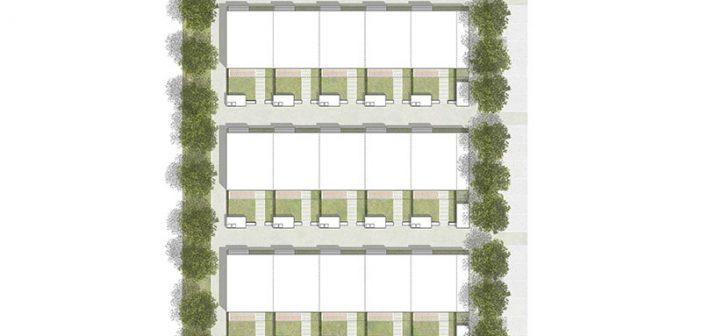 """Aufgrund verschiedener Größen und Aufteilungsmöglichkeiten können die Wohnungen des """"BV-Lb-Modell"""" individuell auf Paare, Familien oder auch WGs zugeschnitten werden. Vorgefertigte Raumzellen und standardisierte Grundrisse sorgen für eine effektive Flächenausnutzung."""