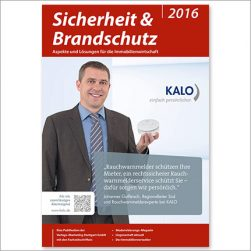 Titelseite - Sicherheit & Brandschutz 2016