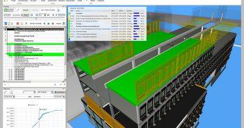 Die digitale Planungsmethode Building Information Modeling unterstützt eine Bauweise mit hohem Vorfertigungsgrad. Planungsfehler und Kollisionen zwischen einzelnen Gewerken können mittels BIM frühzeitig erkannt und schnell behoben werden. - Bild: Brüninghoff