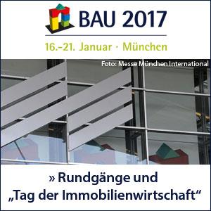 Anmeldung zu den Messerundgängen auf der BAU 2017