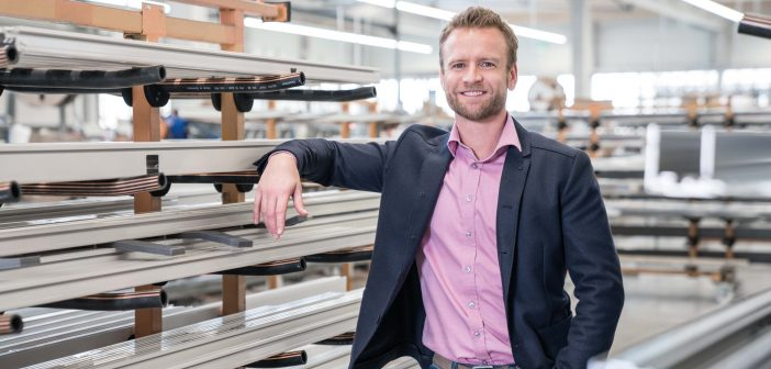 Das Modernisierungs-Magazin vor Ort: Stefan Holtgreife, Geschäftsführer Solarlux GmbH