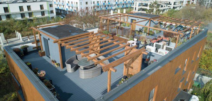Überzeugende Lösungen für die Dachterrasse